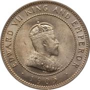 ½ Penny - Edward VII – obverse