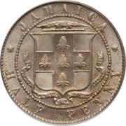 ½ Penny - Edward VII – reverse