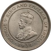 1 Farthing - George V – obverse