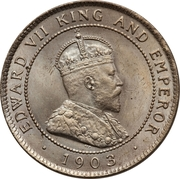 1 Penny - Edward VII -  obverse