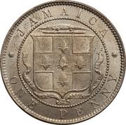 1 Penny - Edward VII -  reverse