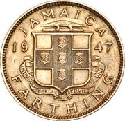 1 Farthing - George VI – reverse