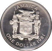 1 Dollar - Elizabeth II (Set Issue) – obverse