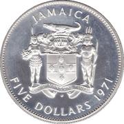 5 Dollars - Elizabeth II (Set Issue) – obverse