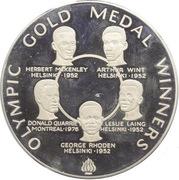 25 Dollars - Elizabeth II (1980 Olympics) – reverse