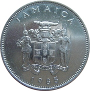 20 Cents - Elizabeth II (FAO; wide legend letters) – obverse