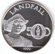25 Dollars - Elizabeth II (Landfall) – reverse