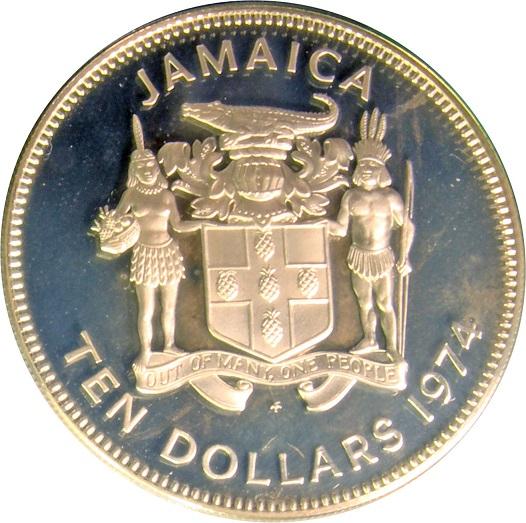 10 Dollars Elizabeth Ii Sir Henry Morgan Silver Proof Issue