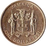 1 Dollar - Elizabeth II (non-magnetic) – obverse
