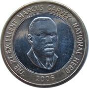 20 Dollars - Marcus Garvey (non-magnetic) -  reverse