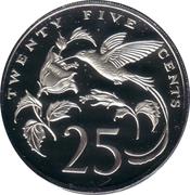 25 Cents - Elizabeth II (Independence) – reverse