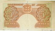 5 Shillings – reverse