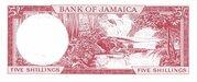 5 Shillings (Latin motto below arms) – reverse