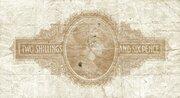 2 Shillings 6 Pence – reverse