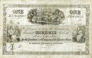 1 Pound (Planters' Bank) – obverse