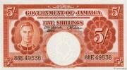 5 Shillings – obverse