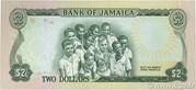 2 Dollars (L.1960; 2 white numerals) – reverse