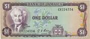 1 Dollar (L.1960; all white numerals) – obverse
