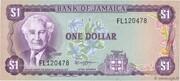 1 Dollar (Jamaica act) – obverse