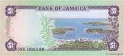 1 Dollar (Jamaica act) – reverse