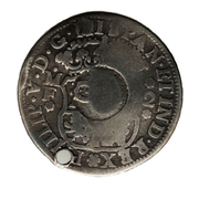 1 Shilling 8 Pence (Countermarked coinage) – reverse