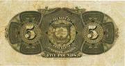 5 Pounds (Bank of Nova Scotia) – reverse