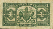 1 Pound (The Royal Bank of Canada) – reverse