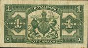 1 Pound (Royal Bank of Canada) – reverse