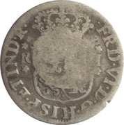 10 Pence (Countermarked coinage) – obverse