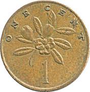 1 Cent - Elizabeth II (wide legend letters) -  reverse