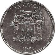 20 Cents - Elizabeth II (FAO; narrow legend letters) – obverse
