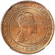 1 Penny - Edward VII – obverse