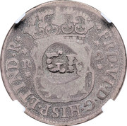 1 Shilling 8 Pence - George II (FRD VI D G HISP ET IND R; Lima mint) – obverse