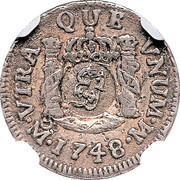 5 Pence (Countermarked Coinage) – obverse