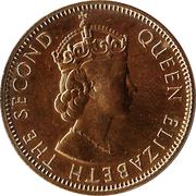 1 Penny - Elizabeth II (Coinage Centennial) – obverse