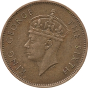 1 Penny - George VI (Without KING AND EMPEROR) – reverse