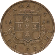 1 Penny - George VI (Without KING AND EMPEROR) – obverse