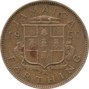 1 Farthing - George VI (Without KING AND EMPEROR) – obverse
