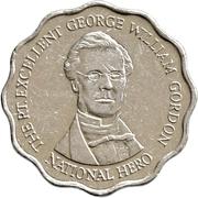 10 Dollars - Elizabeth II (scalloped) – reverse