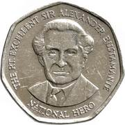 1 Dollar - Elizabeth II (heptagonal) -  reverse