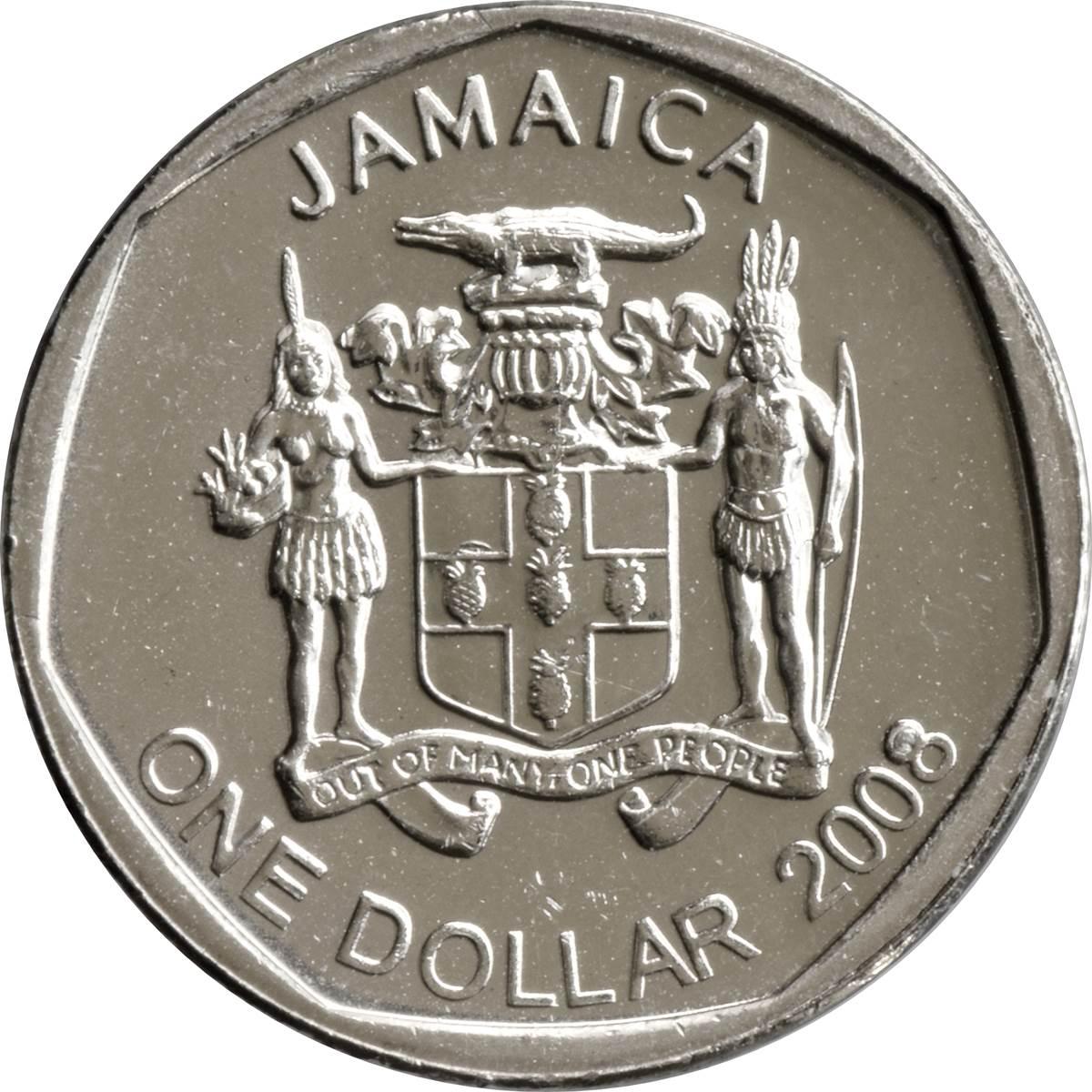 1 Dollar Elizabeth Ii Round