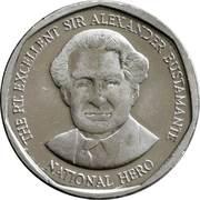1 Dollar - Elizabeth II (round) – reverse