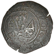 1/11 Réal (Countermark of anchor) – reverse