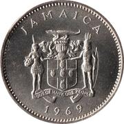 10 Cents - Elizabeth II (wide legend letters; non-magnetic) -  obverse