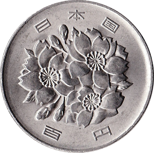 Coin Value: Japan 100 Yen 1967 to Date