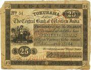 25 Dollars - The Central Bank of Western India - Yokohama – obverse