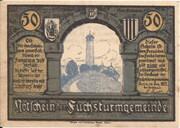 50 Pfennig (Fuchsturmgemeinde) – obverse