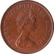 2 New Pence - Elizabeth II (2nd portrait) – obverse