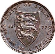 1/48 Shilling - Victoria – reverse