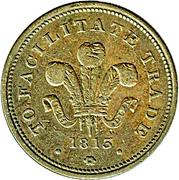 Half Penny (Bank Token) – obverse